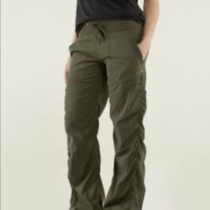 Lululemon Army Green Pants